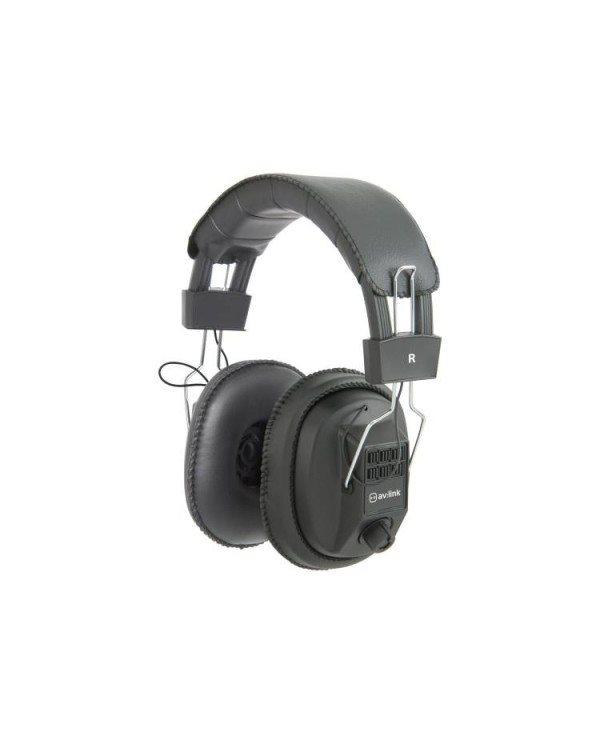 AvLink MSH40 Μονά / Στερεοφωνικά Ακουστικά με Έλεγχο Έντασης
