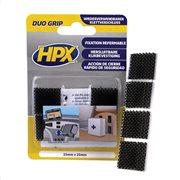 HPX Duo Grip pads μαύρο 25mmx25mm