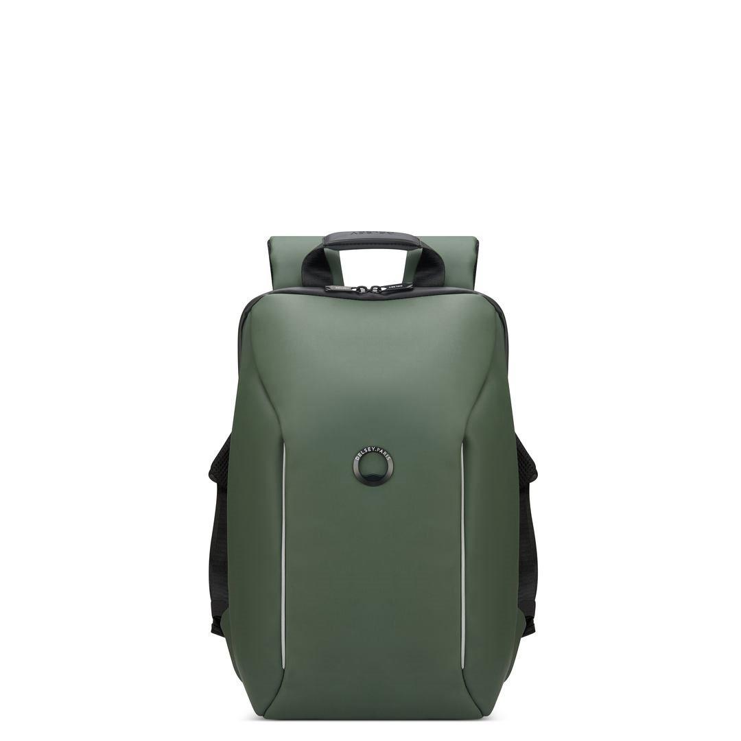 Delsey Σακίδιο πλάτης με θέση PC 14  44,5x29,5x16,5cm σειρά Securain Χακί