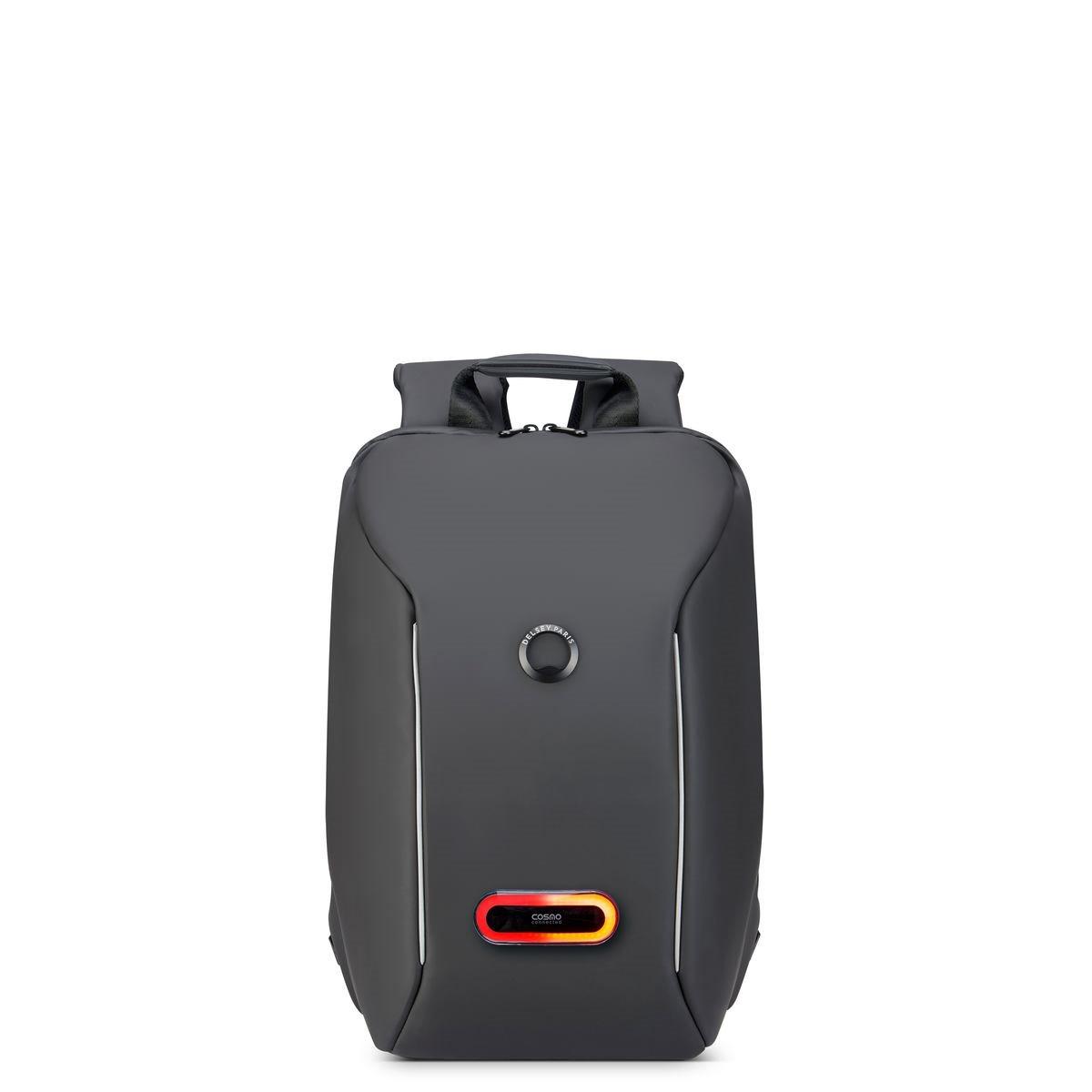 Delsey Σακίδιο πλάτης με θέση PC 14   44,5x29,5x16,5cm Securain Connected Black