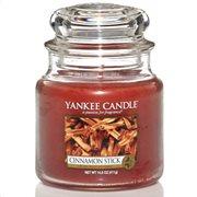 Yankee Candle Αρωματικό Κερί σε Γυάλινο Δοχείο Medium σειρά Cinnamon Stick
