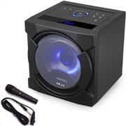 Akai ABTS-K6 Φορητό ηχείο BT karaoke με USB, LED, micro SD, Aux-In, Aux-Out και ενσ. μικ. – 30 W