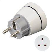 Hama Travel Adapter Plug, UK to GR