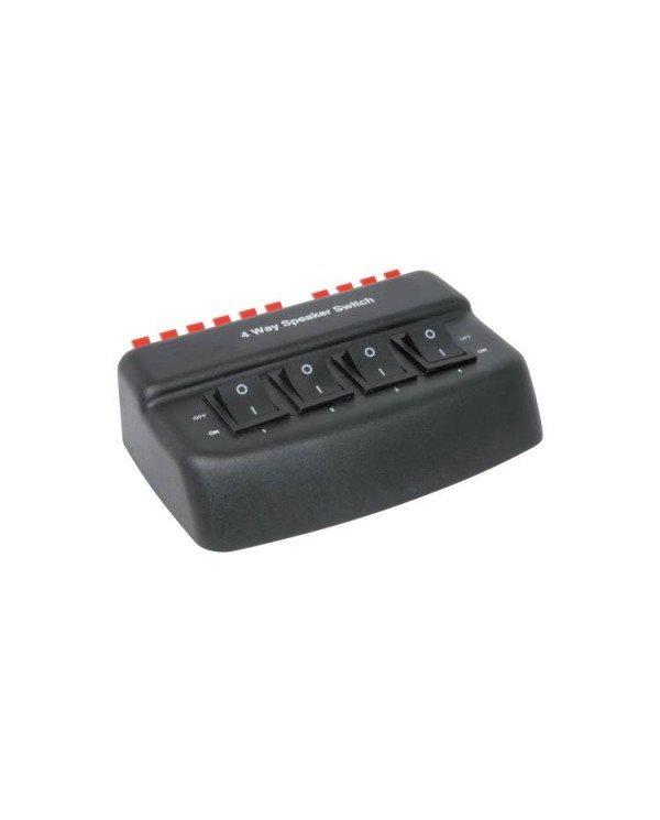AvLink AD-SPK42 4 Way Loudspeaker Selector 50W RMS