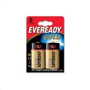 Eveready Αλκαλικές Μπαταρίες D 1.5V Gold 2τμχ