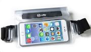 Celly Splashbelt Waterproof Belt Case Up To 5.7 Smartphone White