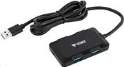 Yenkee 4-Port Usb 3.0 Charging Hub YHB 4341BK