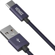 YCU 301 BE Yenkee Data Cable Usb/Type-C 1m Μπλε