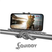 Celly Squiddy Flexible Mini Tripod Gray