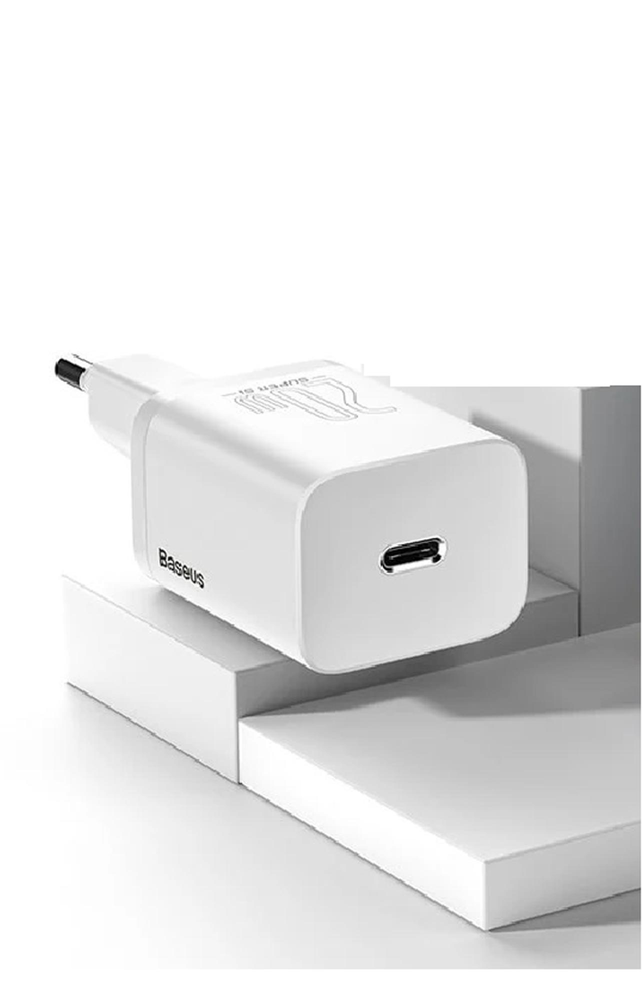 Baseus Super Si Quick Charger 1C 20W White