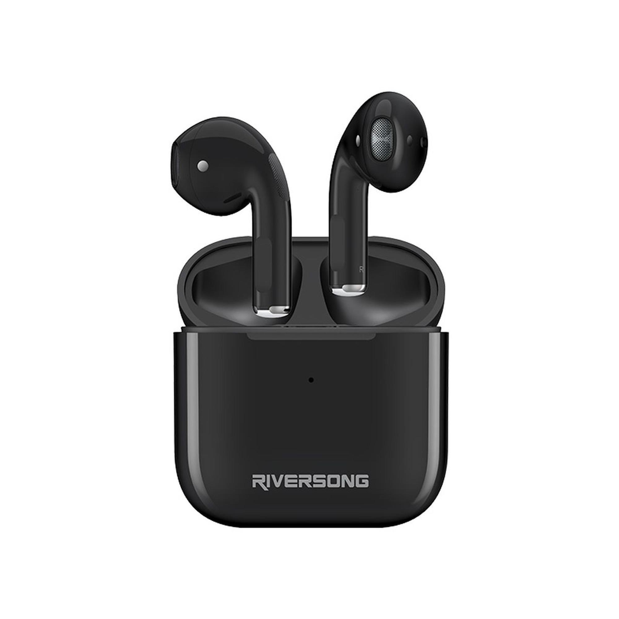 Riversong True Wireless Earbuds Air Mini Black
