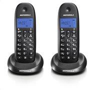 MOTOROLA C1002LB (ΕΛΛΗΝΙΚΟ ΜΕΝΟΥ) Διπλό ασύρματο τηλέφωνο