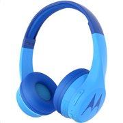 Motorola SQUADS 300 Blue Ενσύρματα/Ασύρματα Bluetooth onear παιδικά ακουστικά Hands Free με splitter