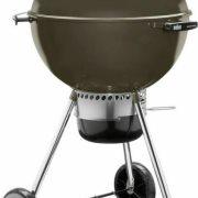 Weber Ψησταριά Κάρβουνου 57x57cm με καπάκι Master Touch GBS E-5750 Smoke Grey