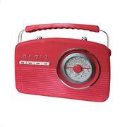 Camry Φορητό Ραδιόφωνο Retro Red CR1130