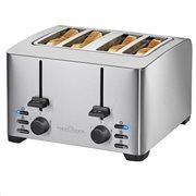 PROFI COOK Ανοξείδωτη αυτόματη φρυγανιέρα 4 θέσεων, 1500W. PC-TA 1073