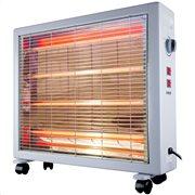Kalko Ηλεκτρική θερμάστρα χαλαζία 2400W K2000 Gray