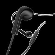 "Hama ""Advance"" Ακουστικά, in-ear με επίπεδο καλώδιο , μάυρα"
