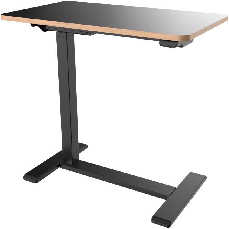 Osio Γραφείο με Μεταλλικά Πόδια Μαύρο 70x40x65cm OSMA-9040