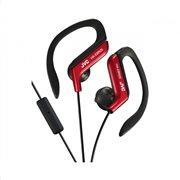 JVC Ear-Clip  αθλητικά ακουστικά με μικρόφωνο HAEBR25BE Κόκκινο