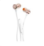 JBL In-Ear Ακουστικά T290 (Rose/Gold)