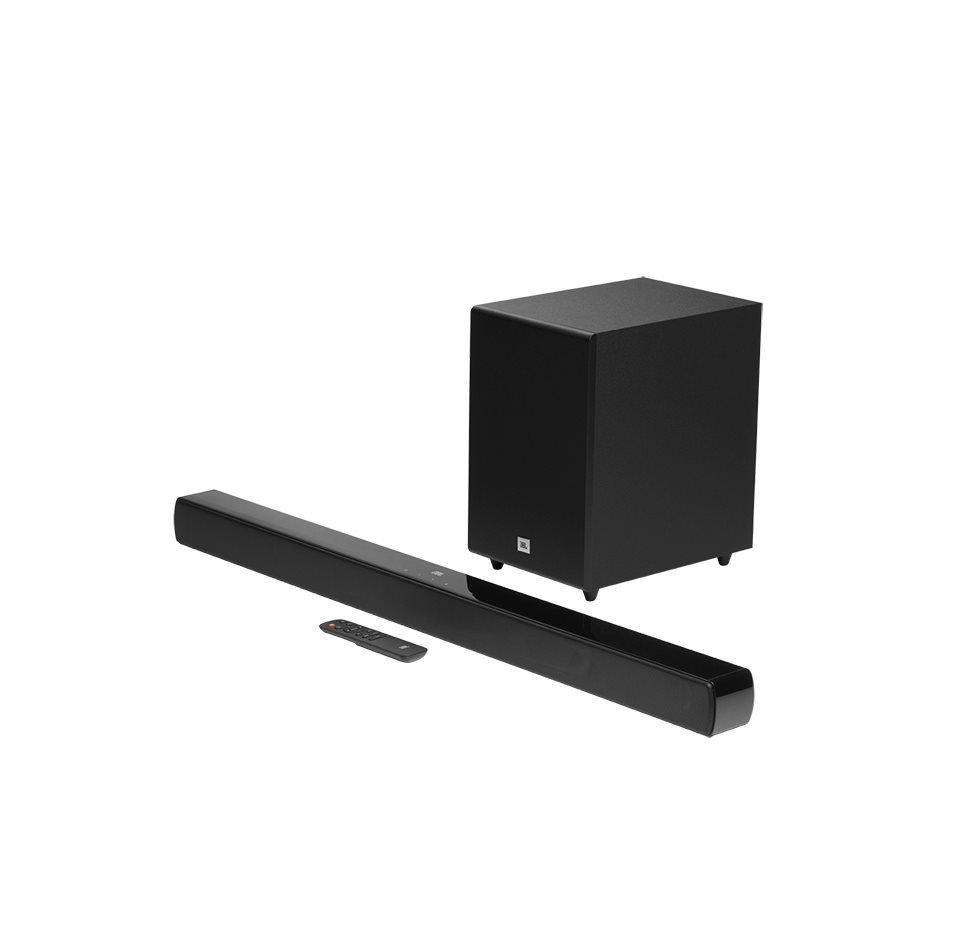 JBL Cinema SB170, Soundbar, Bluetooth, Wireless Subwoofer (Black)