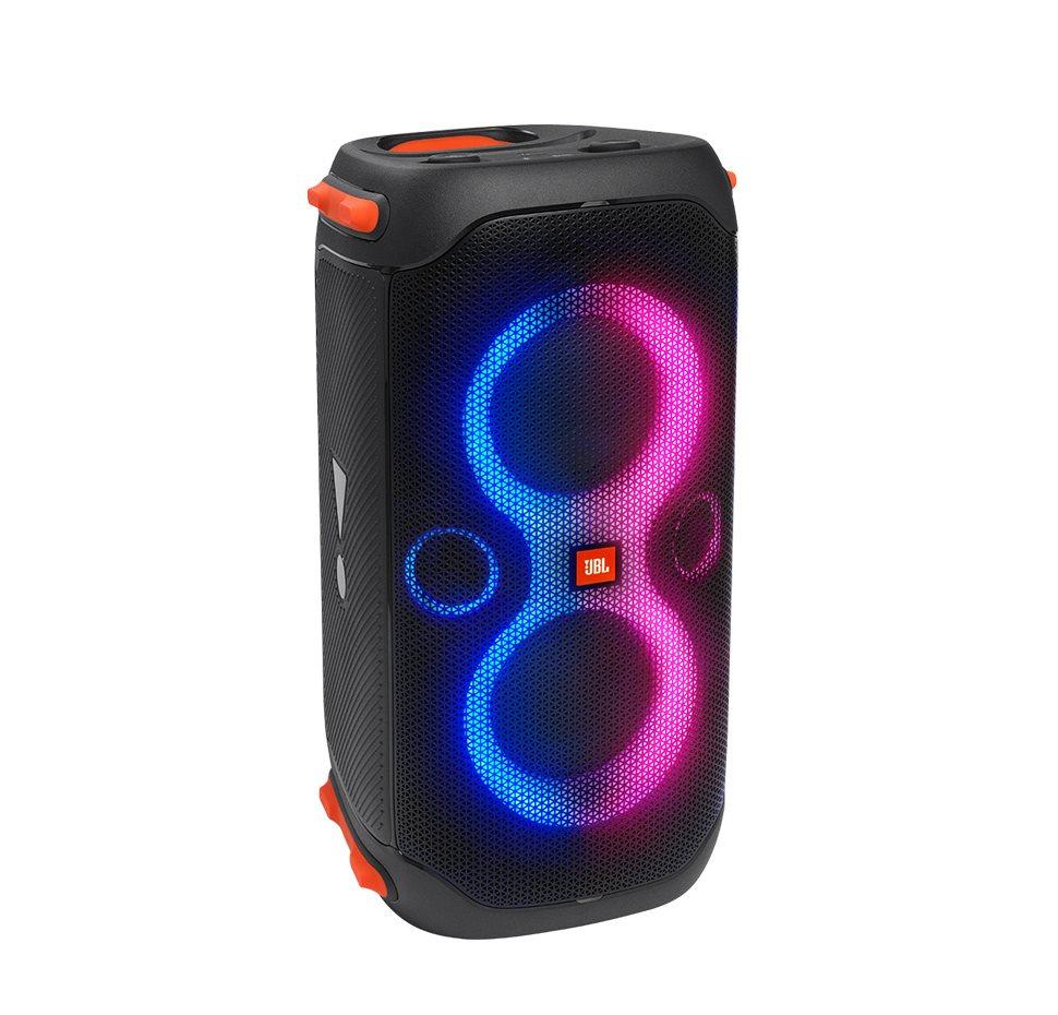 JBL Partybox 110, Portable BT Party Speaker, IPX4, Light Effect, (Black)