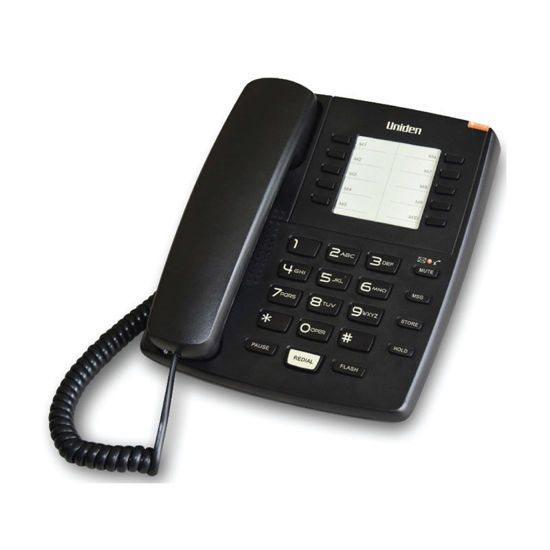 UNIDEN Τηλέφωνο Επιτραπέζιο AS7201 Μαύρο