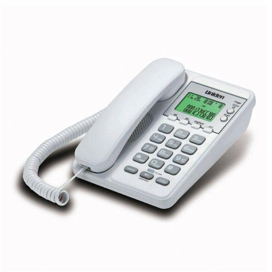 UNIDEN Τηλέφωνο Επιτραπέζιο με οθόνη AS6404 Λευκό