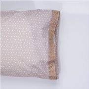White Fabric Σετ Μαξιλαροθήκες Dottie Μπεζ