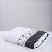 White Fabric Κουβέρτα Multi Patchwork