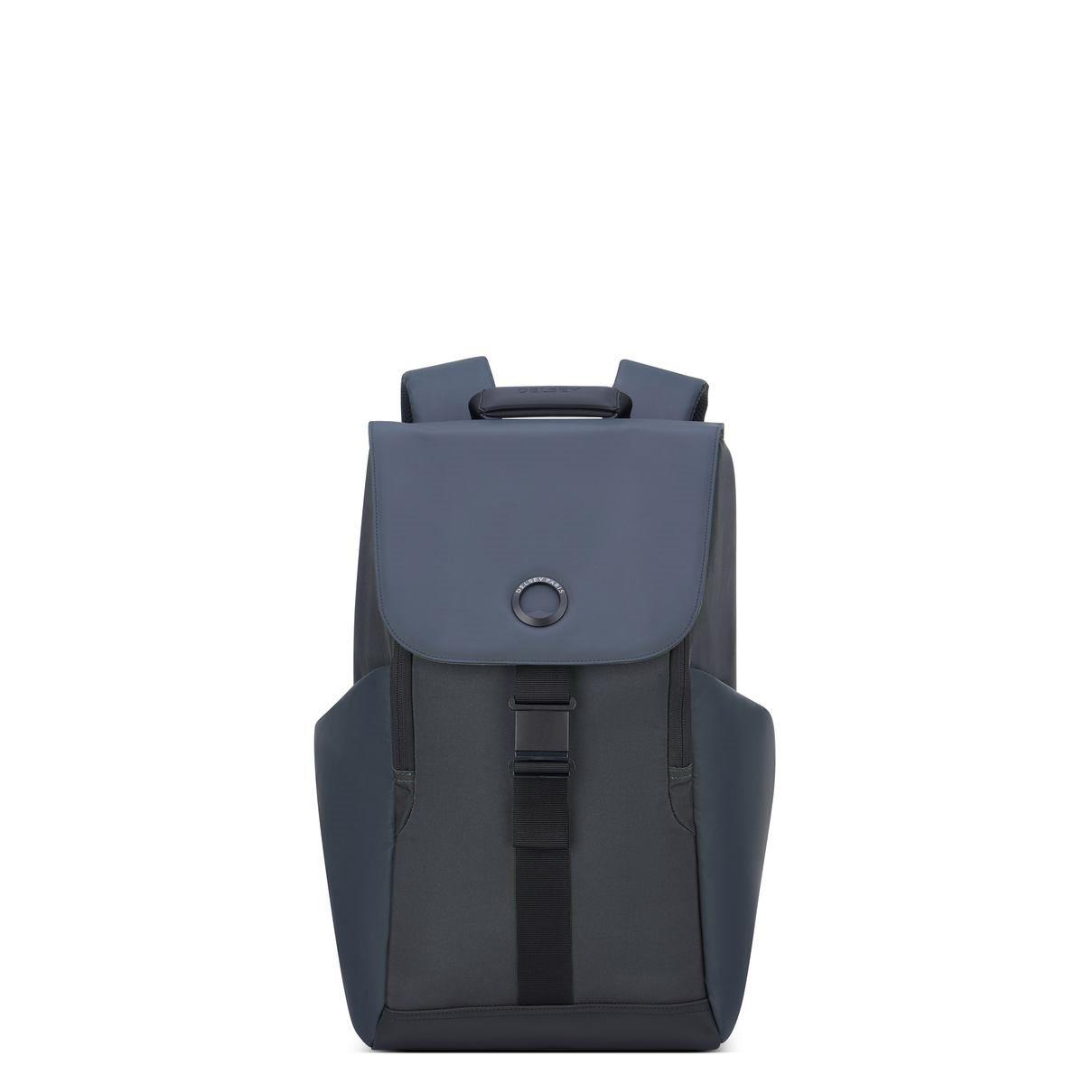 Delsey Σακίδιο πλάτης με θέση PC 15,6'' 45,5x31,5x14,5cm σειρά Securflap Black