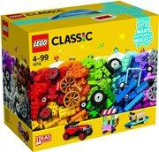 LEGO Classic Bricks on a Roll 10715 Τουβλάκια σε Ρόδες