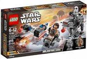 LEGO Star Wars Ski Speeder™ vs. First Order Walker™ Microfighters 75195