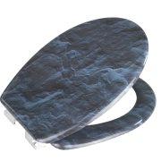 Wenko Καπάκι Λεκάνης Πλαστικό 44.5x36.5cm Βράχος 213971121