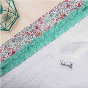 White Fabric Πετσέτα Primore Άσπρη Προσώπου