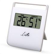 Life Θερμόμετρο & Υγρόμετρο Επιτραπέζιο Εσωτερικού Χώρου WES-102