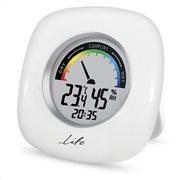 Life Θερμόμετρο & Υγρόμετρο Επιτραπέζιο Εσωτερικού Χώρου WES-103