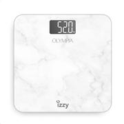 Izzy Ψηφιακή Ζυγαριά Olympia Λευκή 180Kg