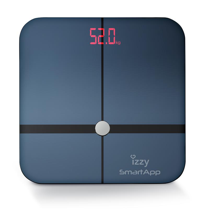 Izzy Ψηφιακή Ζυγαριά 13 Μετρήσεων με Λιπομετρητή & Bluetooth SmartApp BT 24 Μνήμες 180kg
