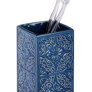 Wenko Ποτηροθήκη Επιτραπέζια Κεραμική Μπλε Cordoba 226521121