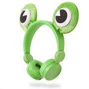NEDIS On-ear ενσύρματα ακουστικά NEDIS Animaticks Freddy Frog, HPWD4000GN