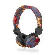NEDIS On-ear ενσύρματα ακουστικά NEDIS N-imal Owl Blue, HPWD4101BK