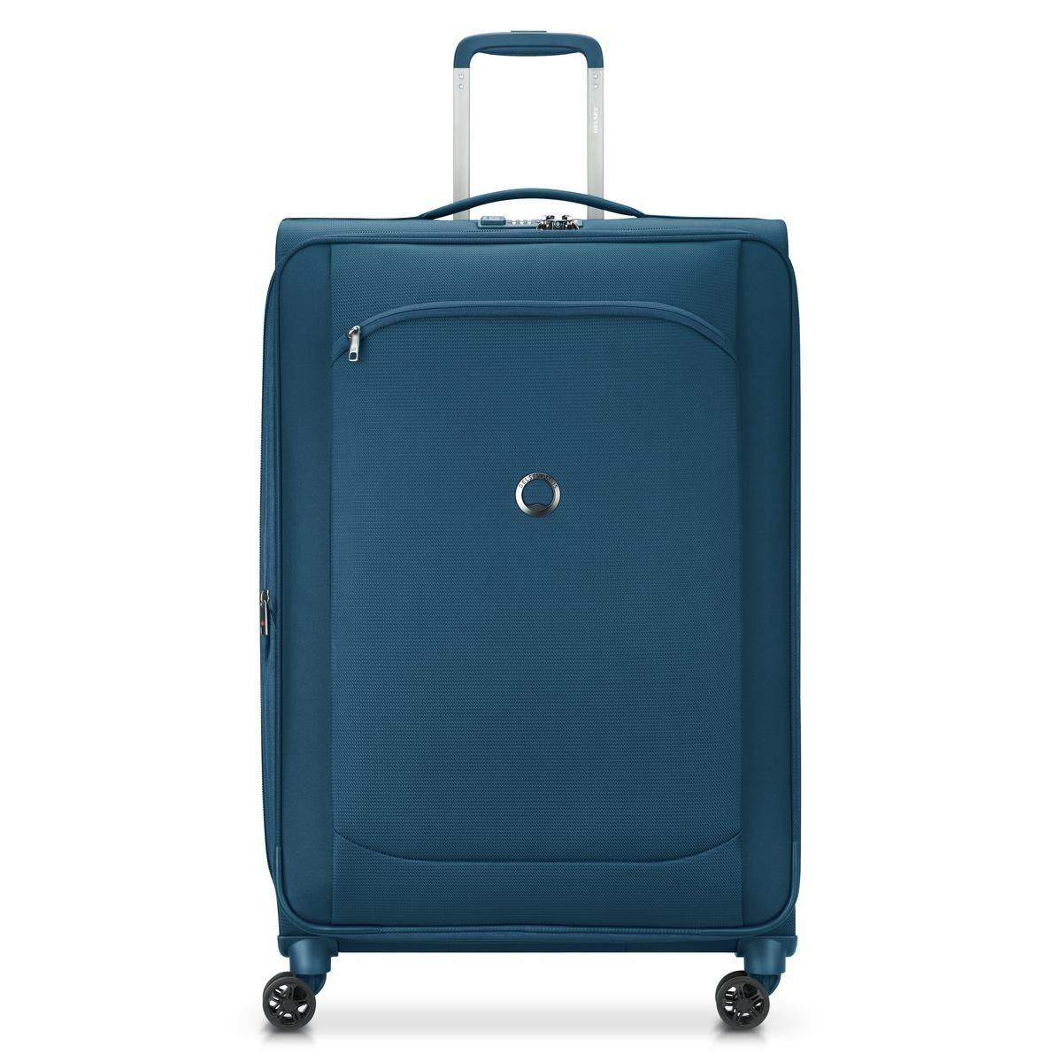 Delsey Βαλίτσα μεγάλη expandable 77,5x49x31cm Recycled σειρά Montmartre Air 2.0 Blue
