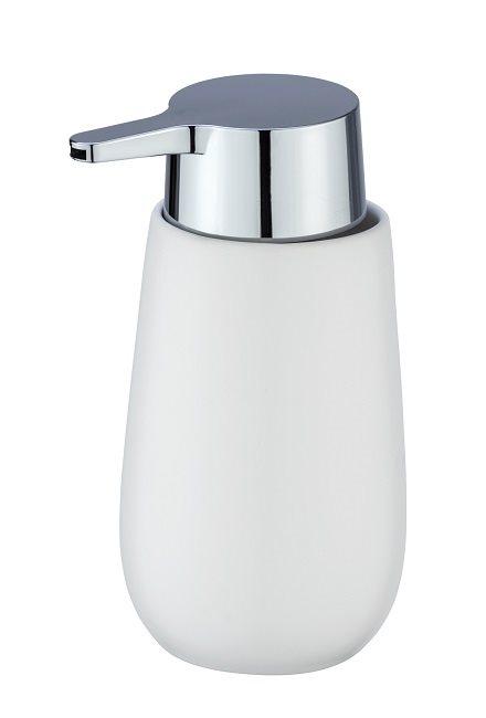 Wenko Επιτραπέζιο Dispenser Κεραμικό Λευκό Badi 236441121