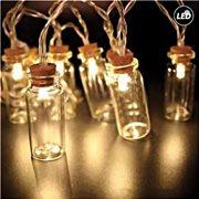 Fos Me Διακοσμητικό Φωτιστικό LED Γιρλάντα Μπουκαλάκια 150cm Διάφανο 27-00370