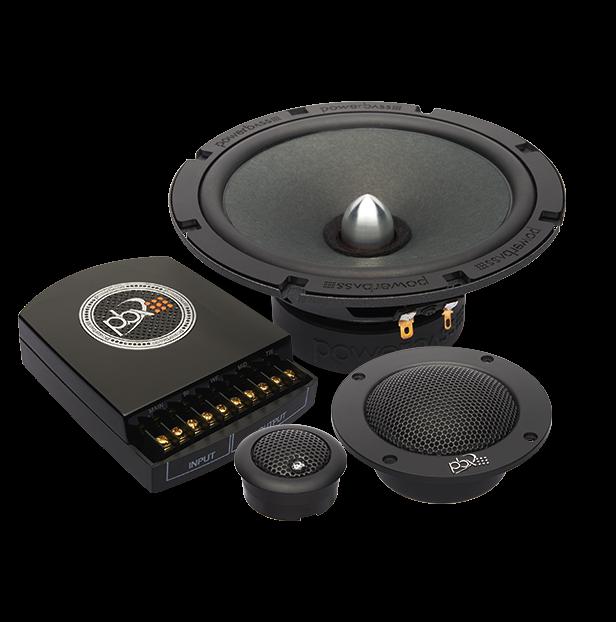 "Powerbass 2XL-63.3C Ηχεία Component 3-Way 6.5"" 120W RMS (Ζευγάρι)"