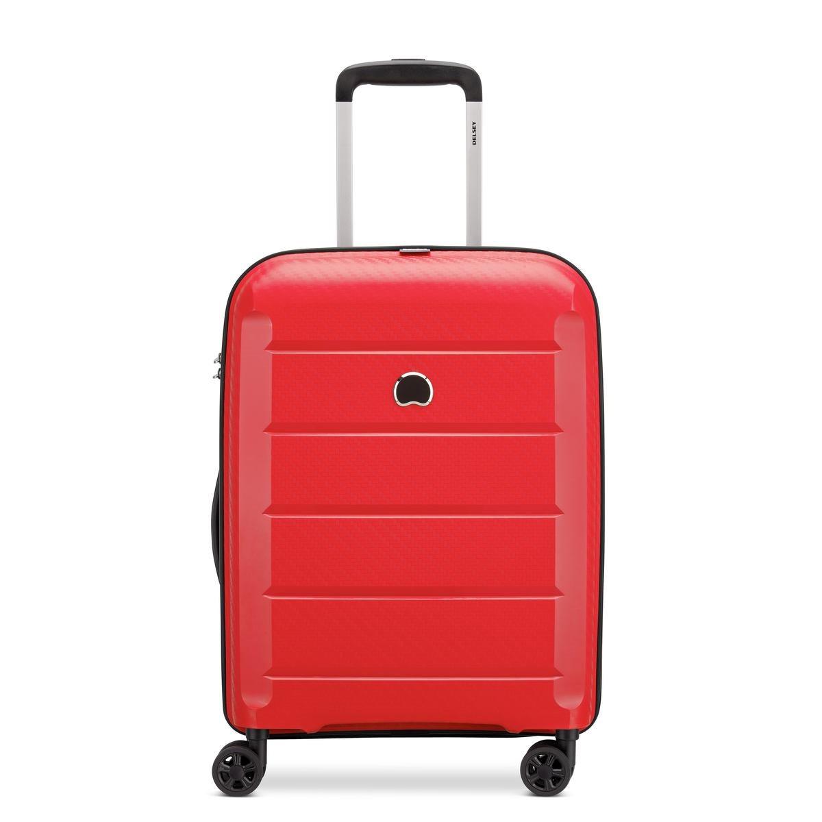 Delsey Βαλίτσα καμπίνας slim 55x40x19cm σειρά Binalog Red