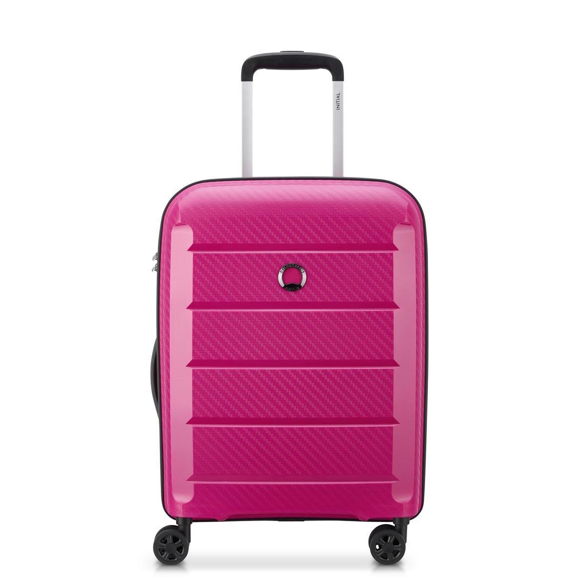 Delsey Βαλίτσα καμπίνας slim 55x40x19cm σειρά Binalog Pink