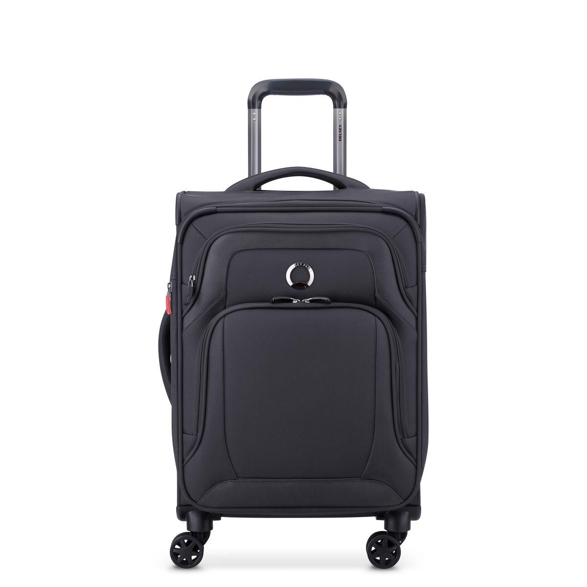 Delsey Βαλίτσα καμπίνας expandable 55x36.5x24/26cm σειρά Optimax Black